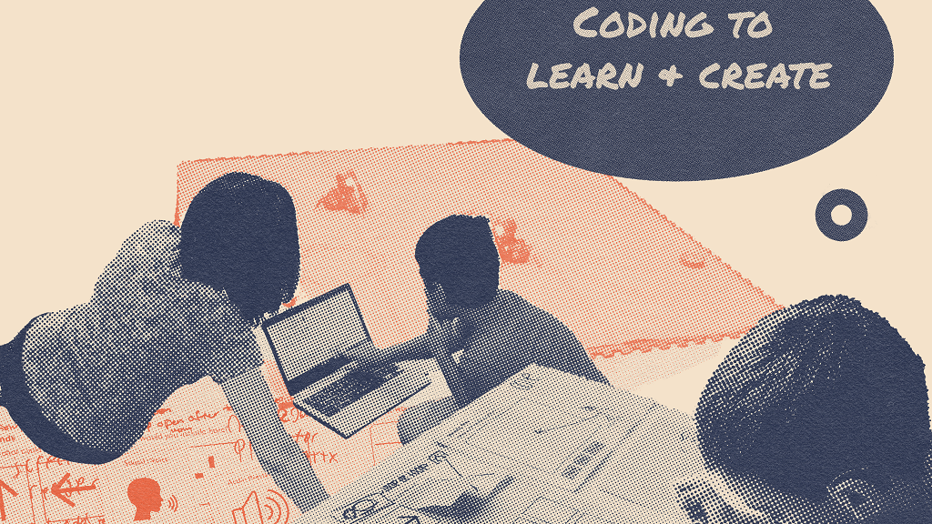 Coding to Learn and Create logo